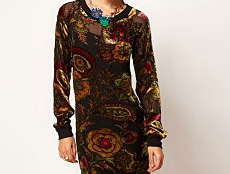 robe-asos-velours