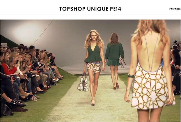 TOPSHOP - UNIQUE PE14