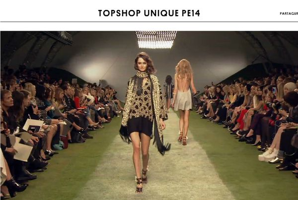 topshop collection unique