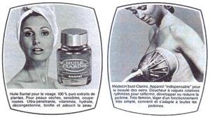 oublicité vintage - CLARINS