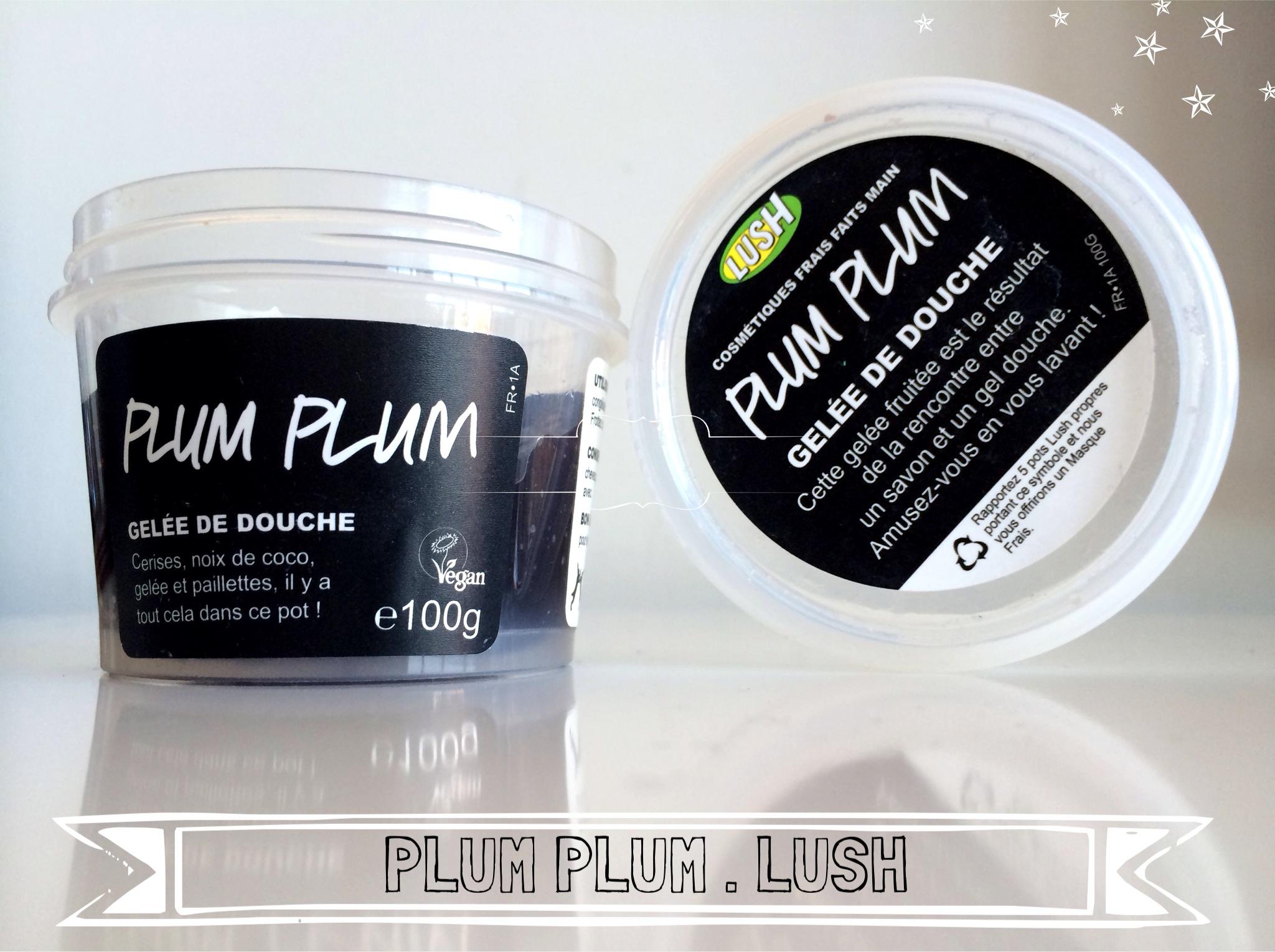 Plum plum - Lush