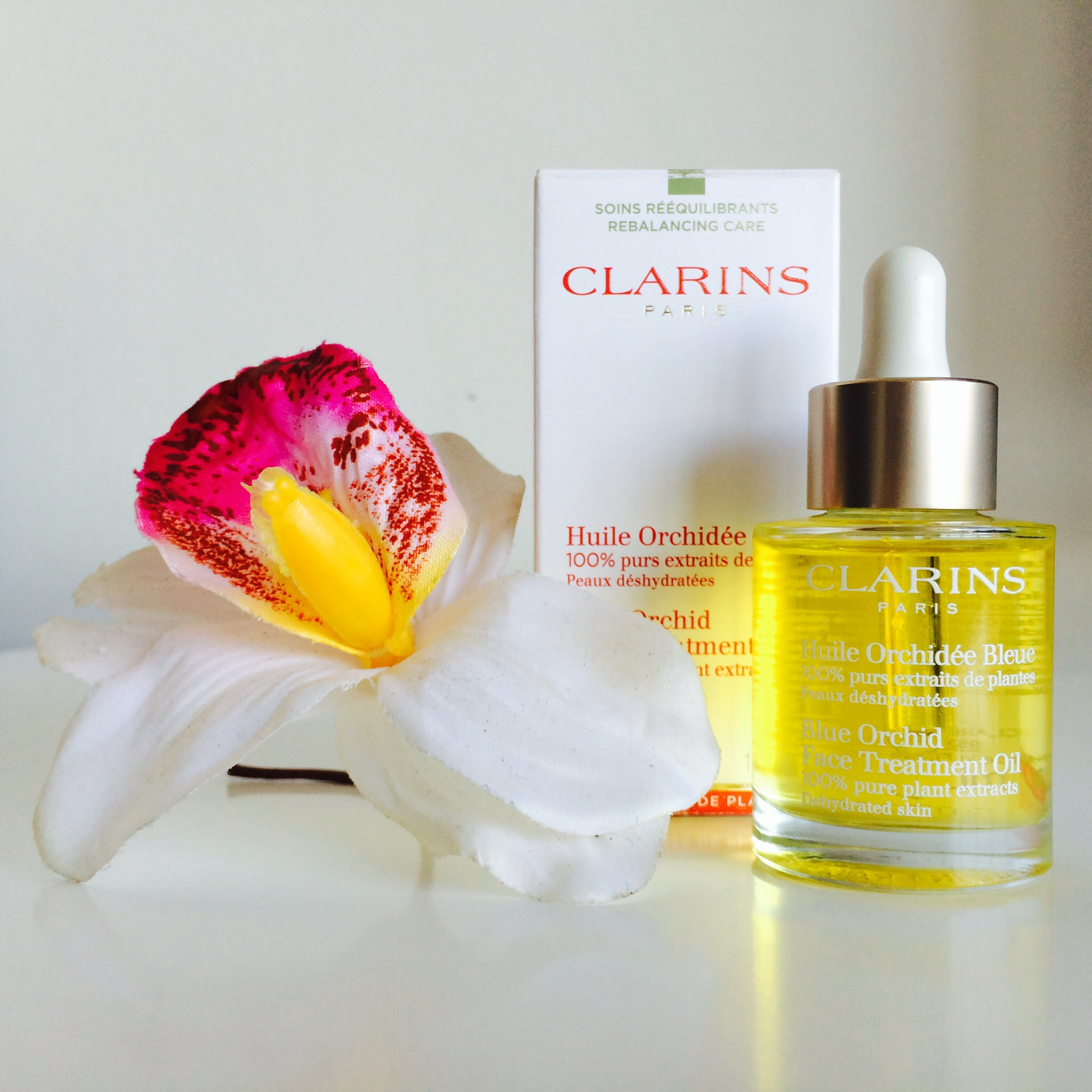orchidee bleue clarins