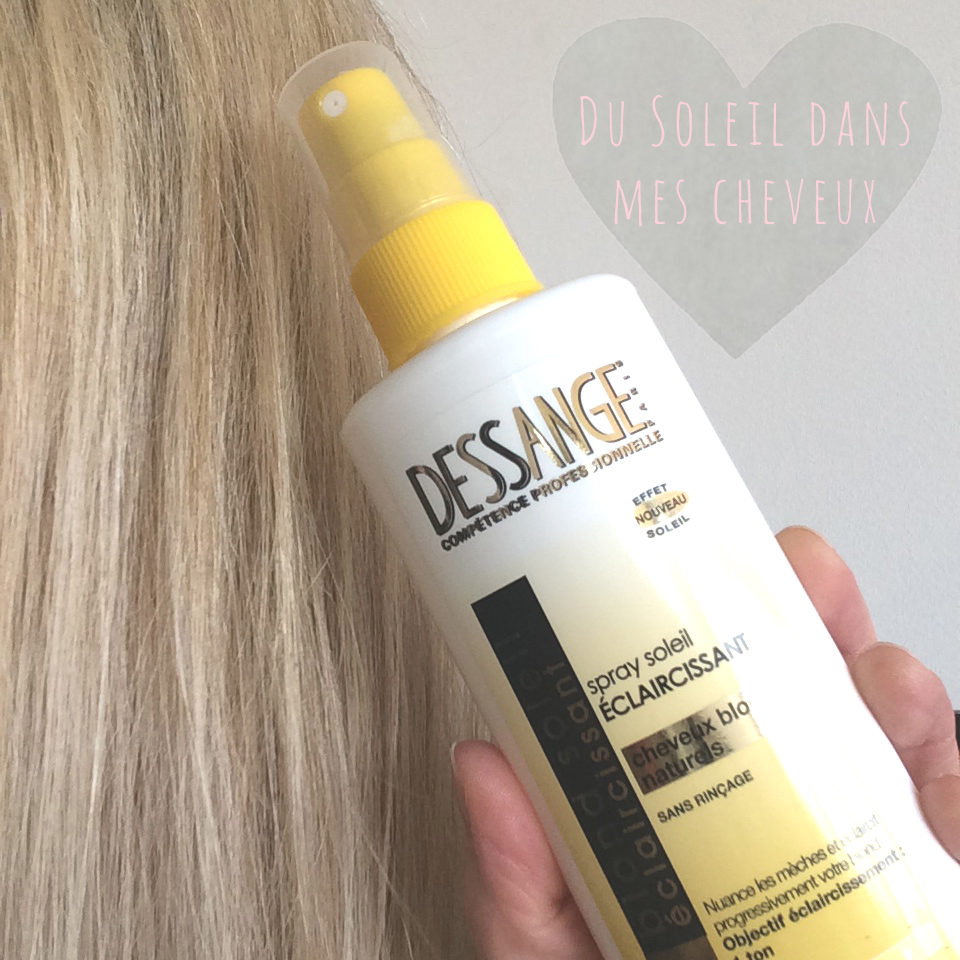 spray soleil claircissant jacques dessange needs and moods - Spray Colorant Cheveux