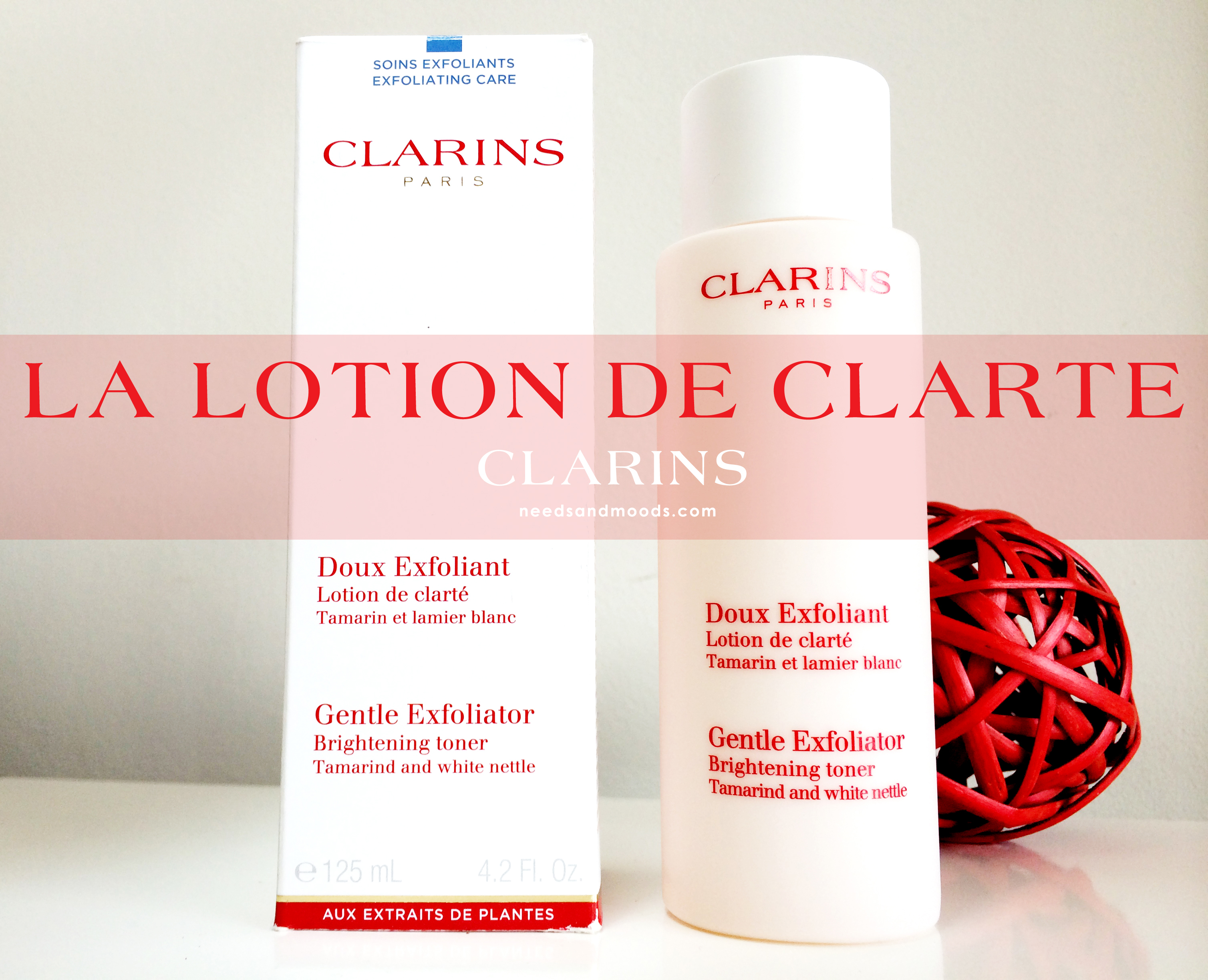 Lotion clarifiante de Clarins