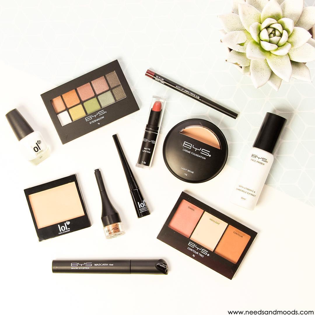 Bys Maquillage : mon avis sur ces produits make-up à petit prix.