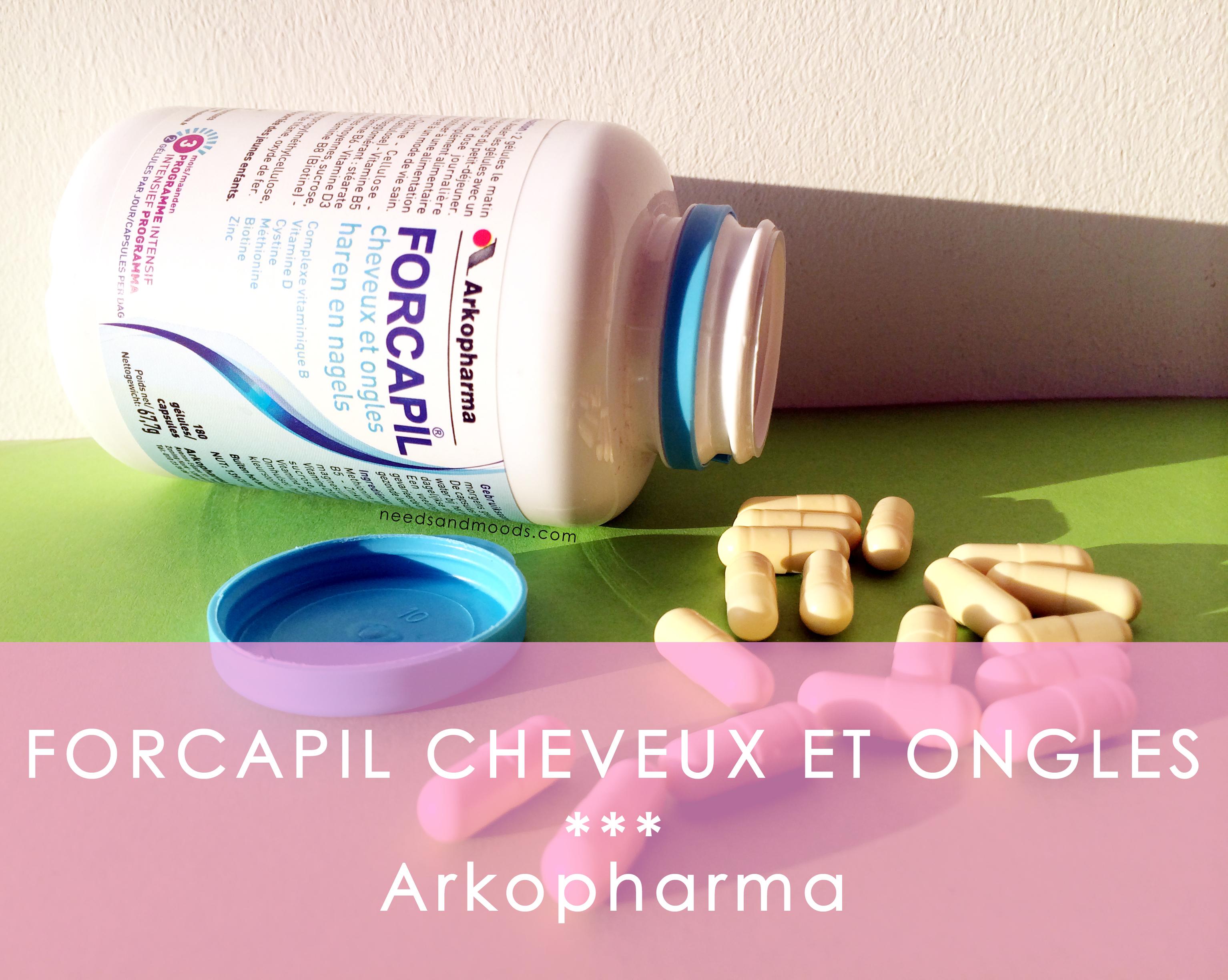 Forcapil cheveux et ongles - Arkopharma