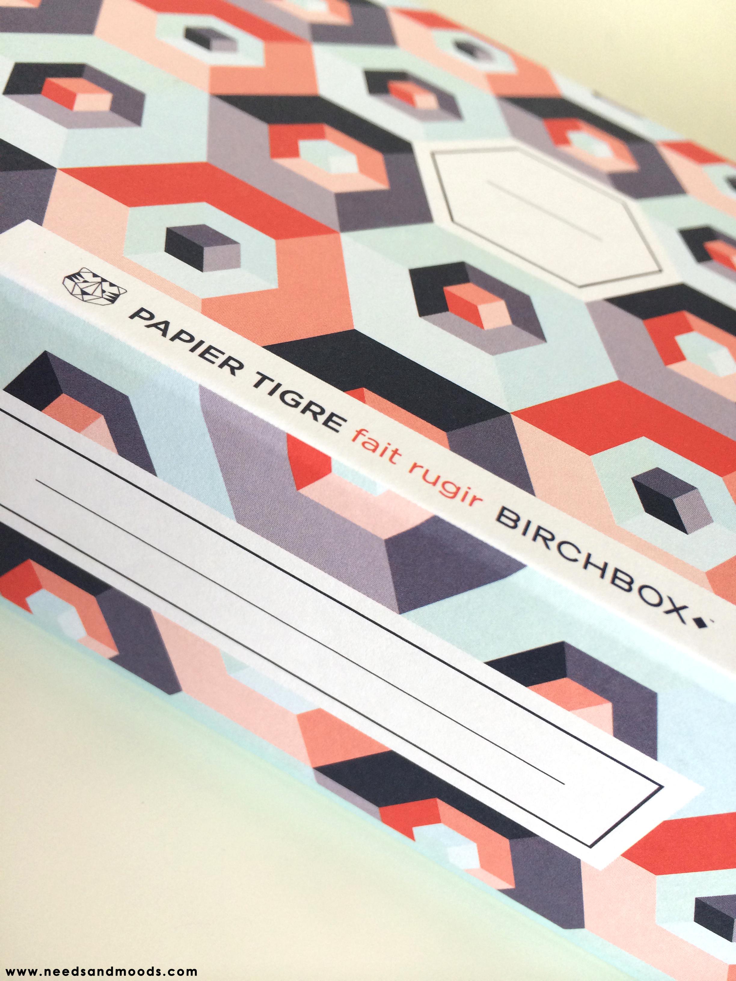 Papier Tigre - imprimé scandinave vintage géométrique