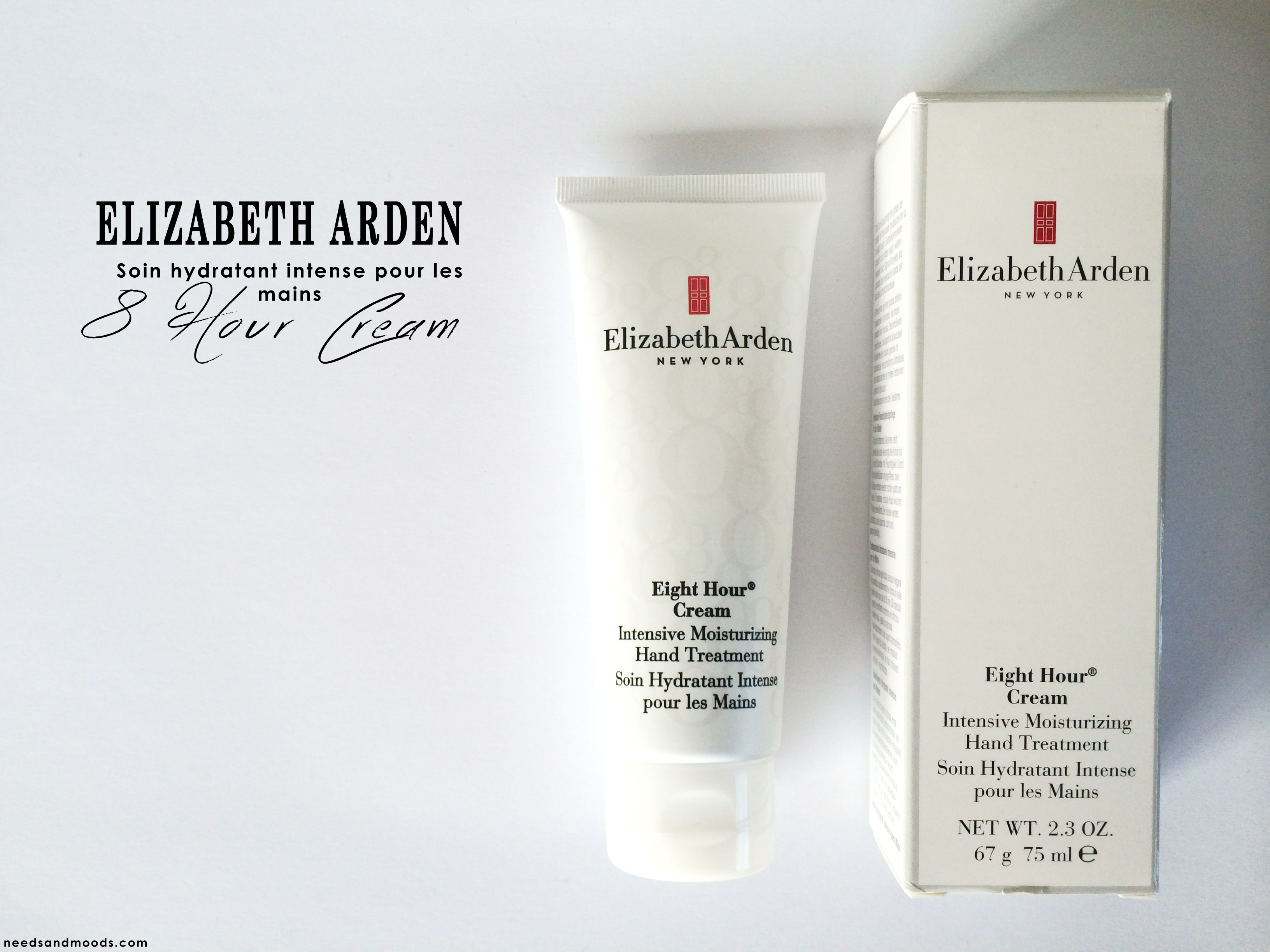 Crème de huit heures pour les mains - Elizabeth Arden - avis