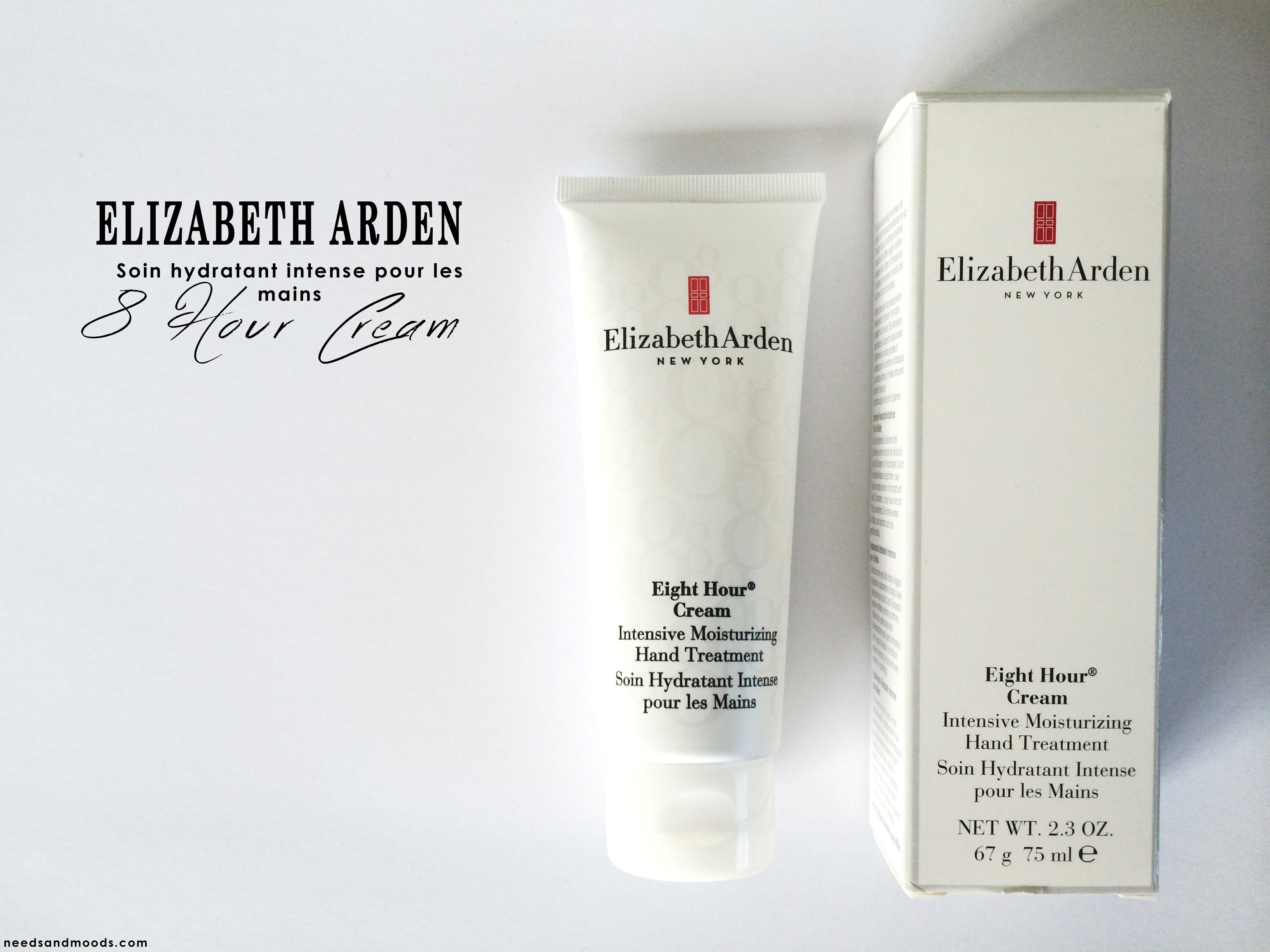 Tidssvarende 8 Hour Cream par Elizabeth Arden.. | Blog Beauté, Needs and Moods NH-21