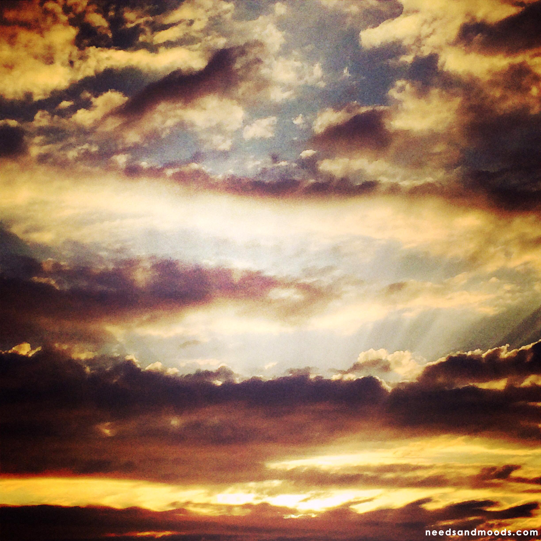Coucher de soleil - Plages du Nord de la France