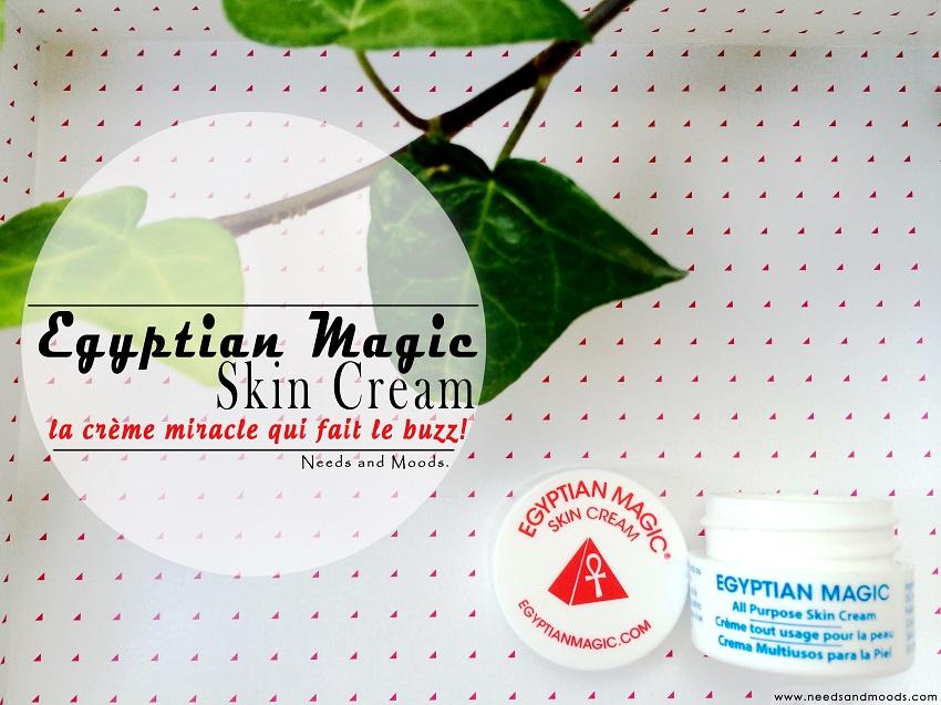 crème egyptian magic beauté test