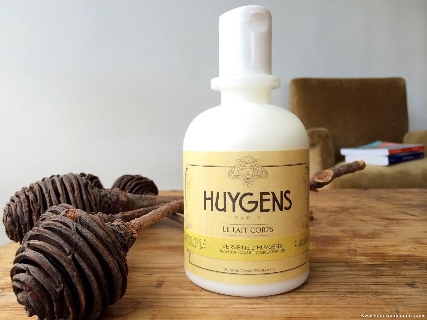 Huygens lait corps verveine