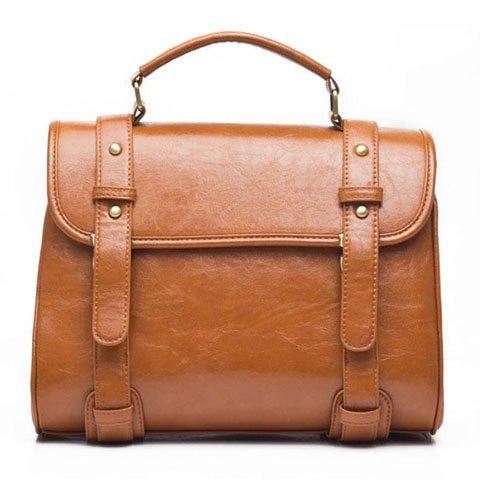 sac cartable fauve rosegal