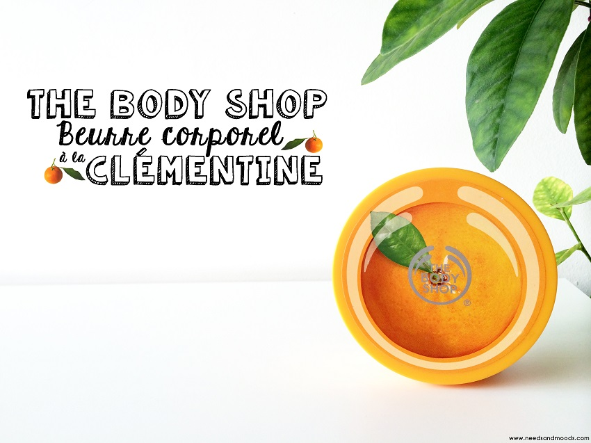 beurre corporel The Body Shop