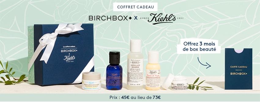 birchbox box beauté kiehls