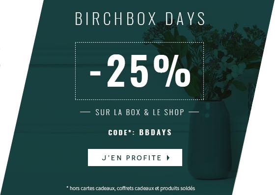 code promo birchbox noel