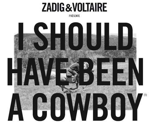 zadig et voltaire cowboy
