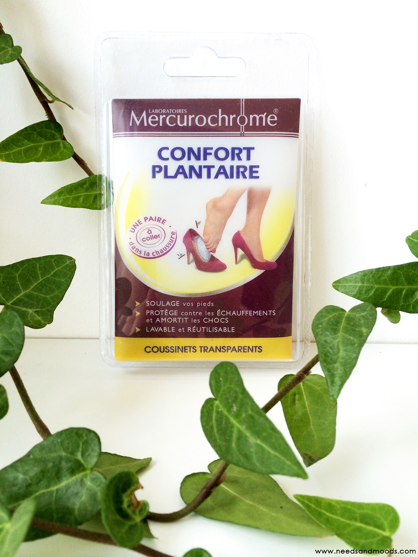 merchurochrome confort plantaire
