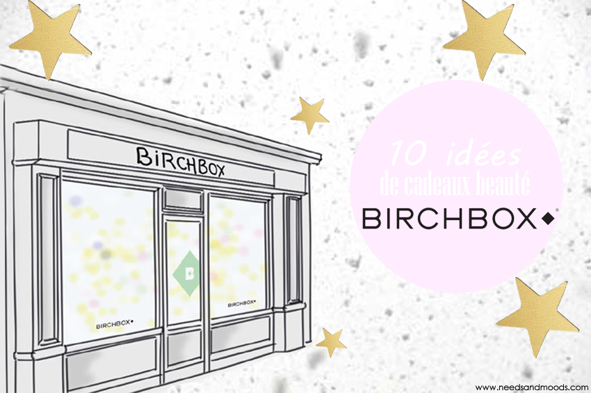 10 idées de cadeaux beauté Birchbox