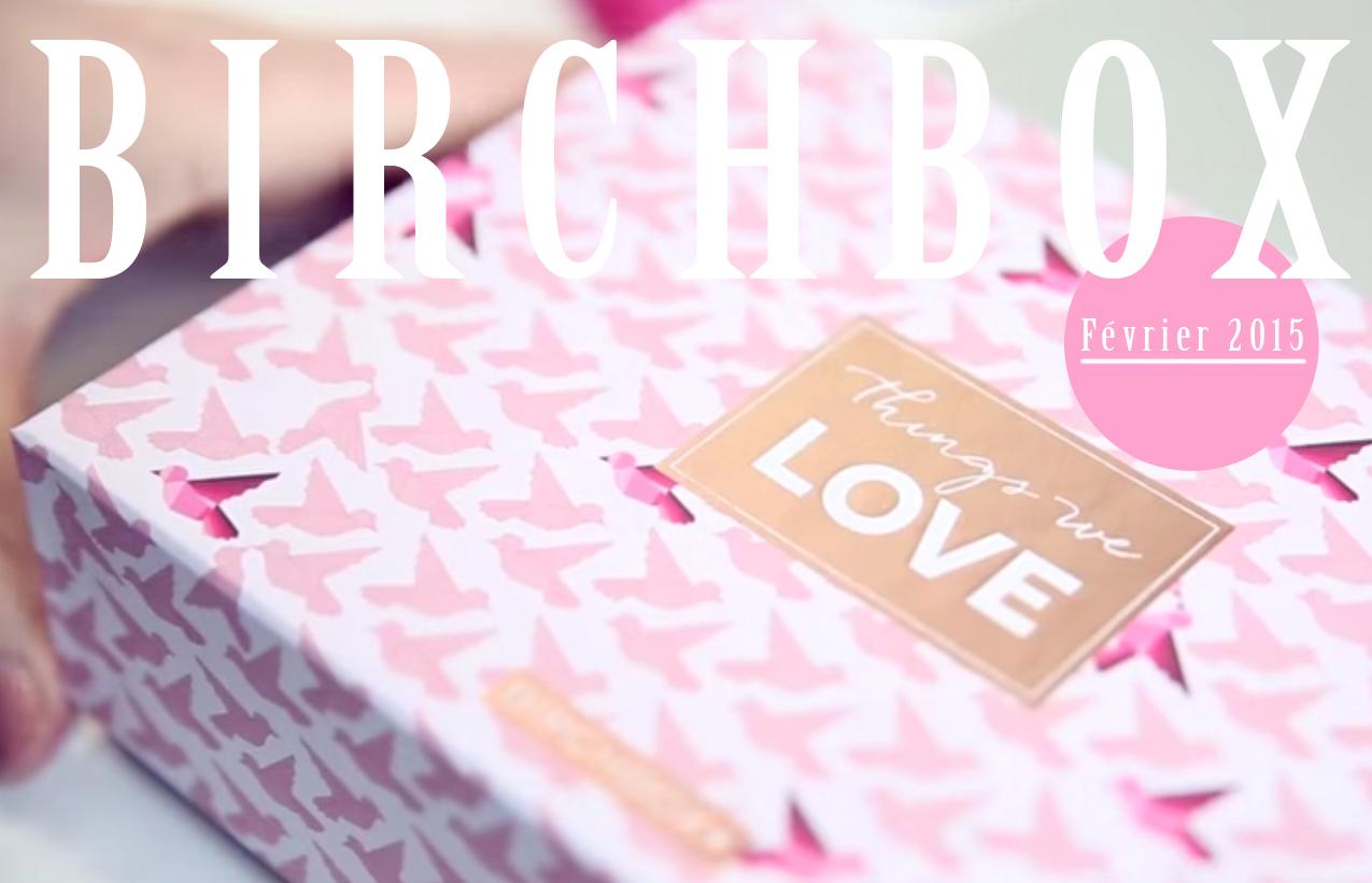 birchbox fevrier