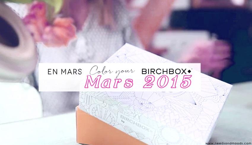 birchbox mars 2015