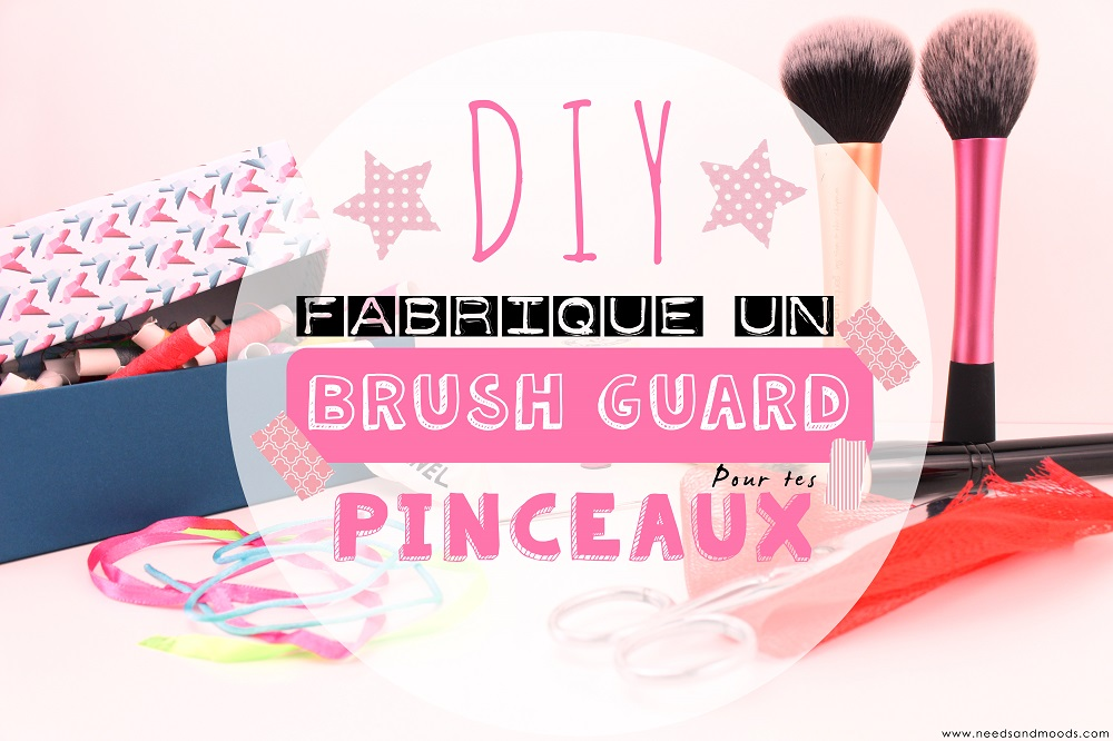 diy brush guard pinceau