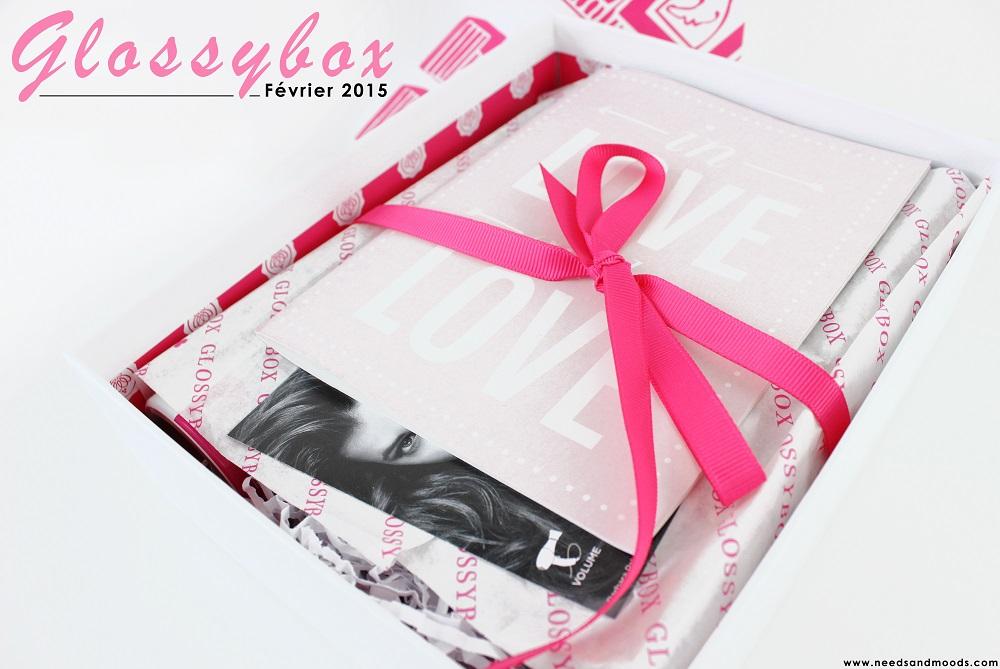 glossybox février 2015