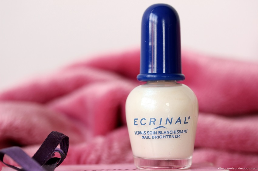 vernis soin blanchissant Ecrinal