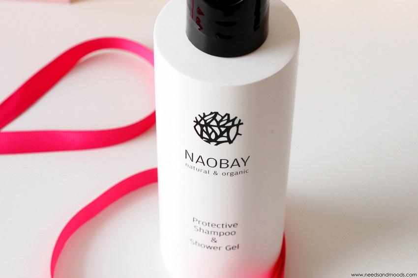 Naobay gel douche et shampoing bio