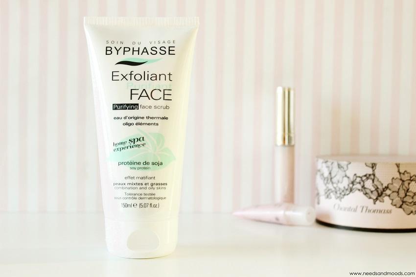 byphasse exfoliant purifiant visage