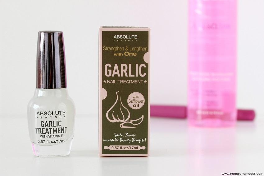 glossybox garlic treatment
