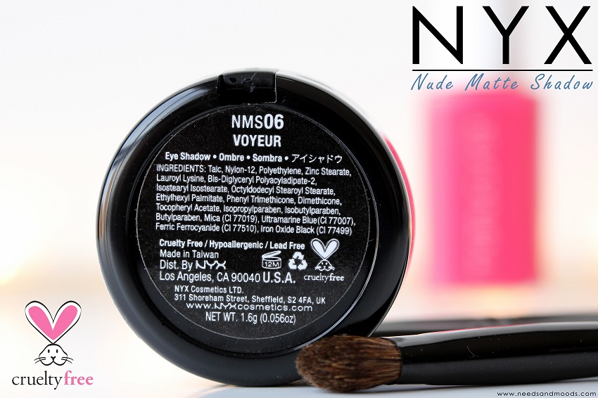 nyx fard à paupières