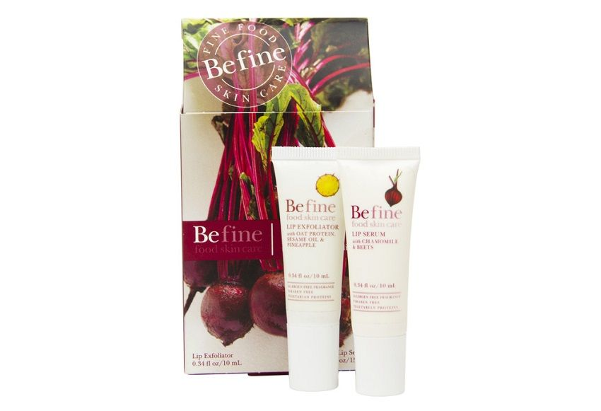 befine lip exfoliator pack