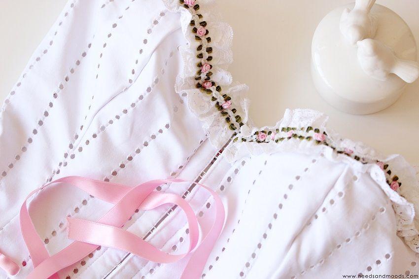 corset dentelle anglaise