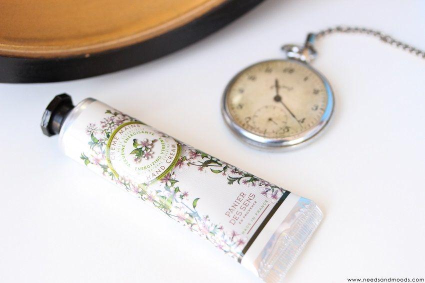 crème mains panier des sens en Provence