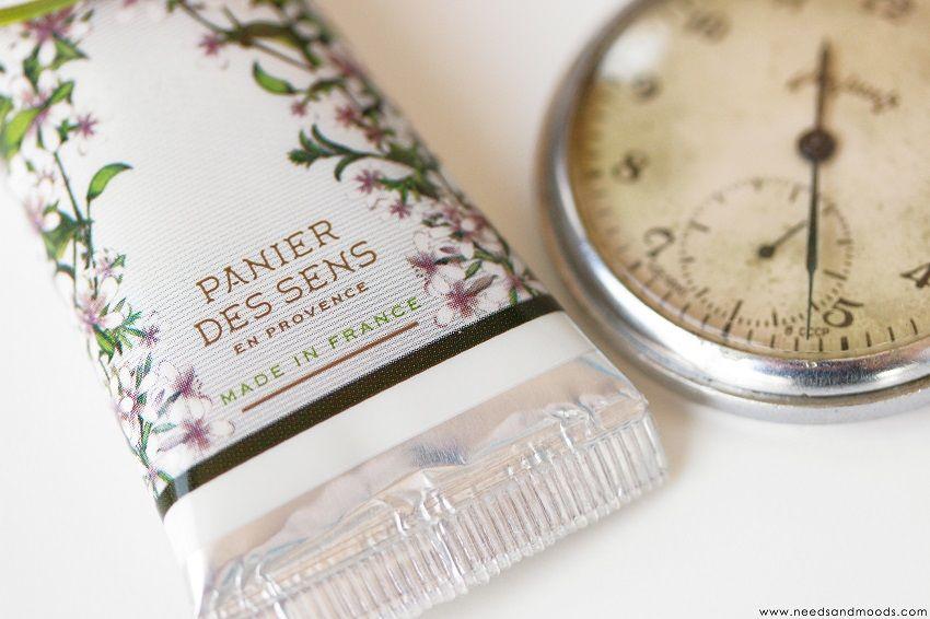 panier des sens en Provence crème mains verveine énergisante