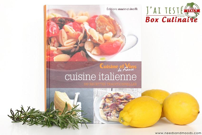 contenu de la box culinaire marie claire