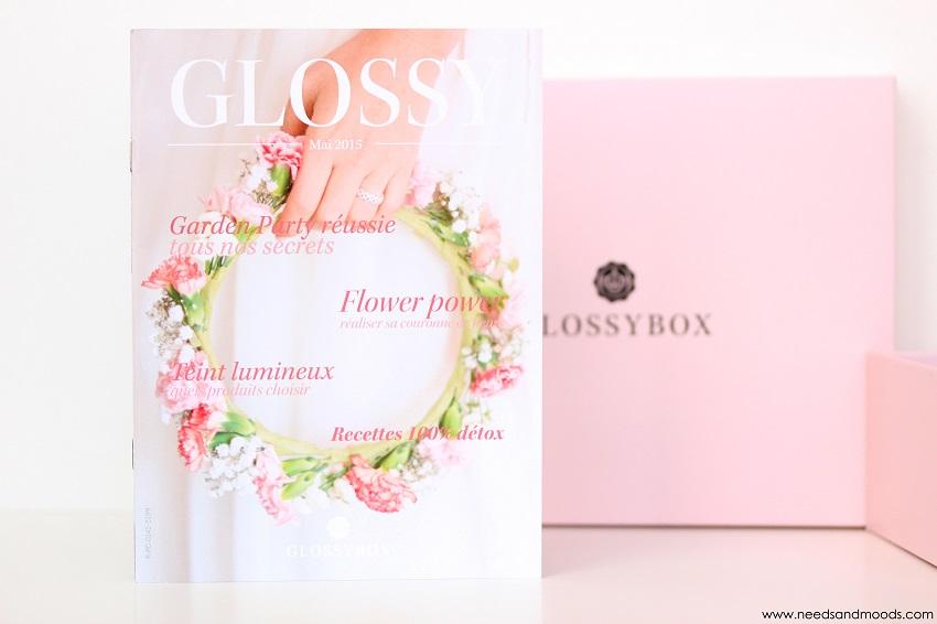 contenu glossybox mai 2015
