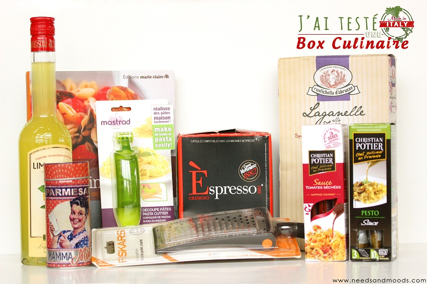 marie claire box culinaire