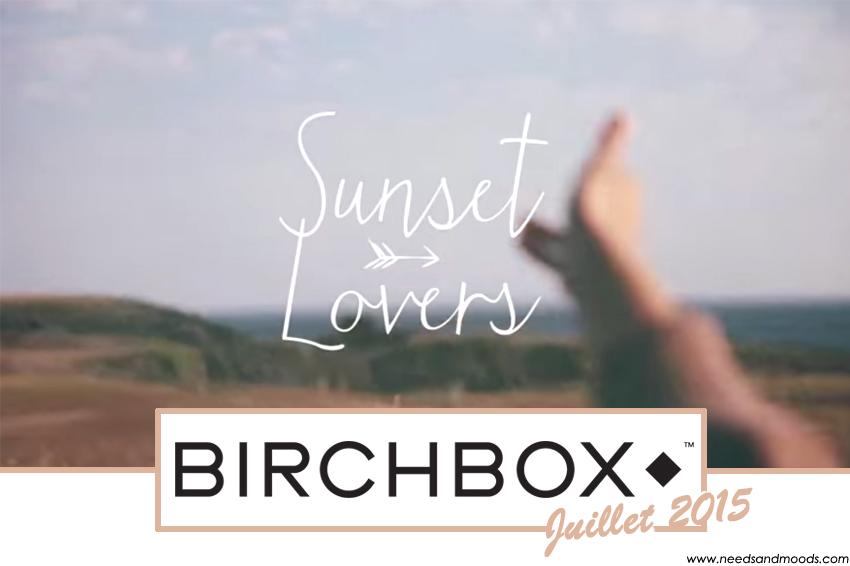 birchbox mois juillet 2015