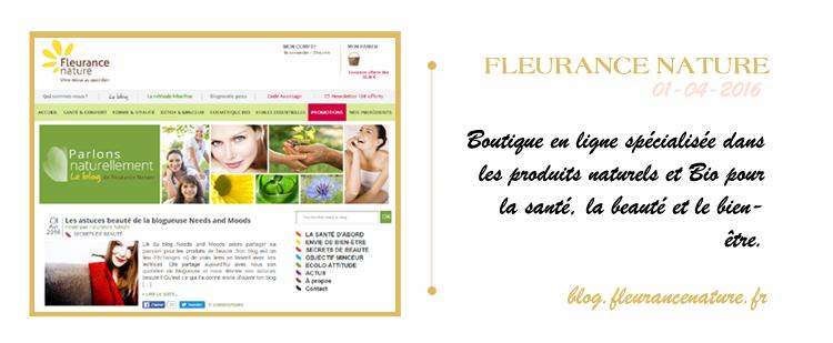 blog beaute fleurance nature