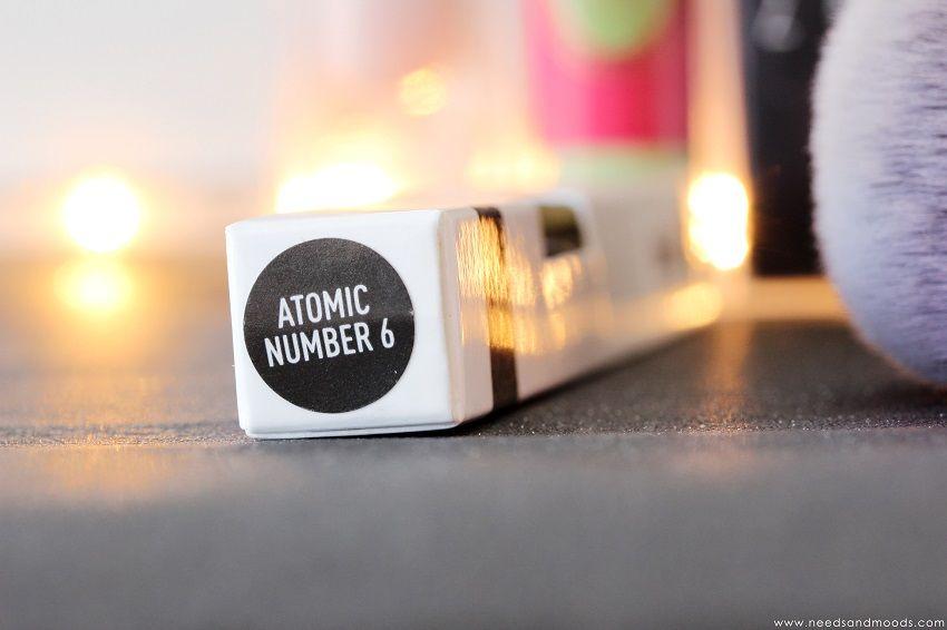 eye liner Sigma atomic number 6