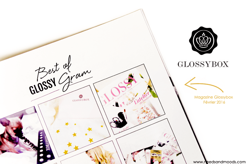 glossybox fevrier 2016 box beaute