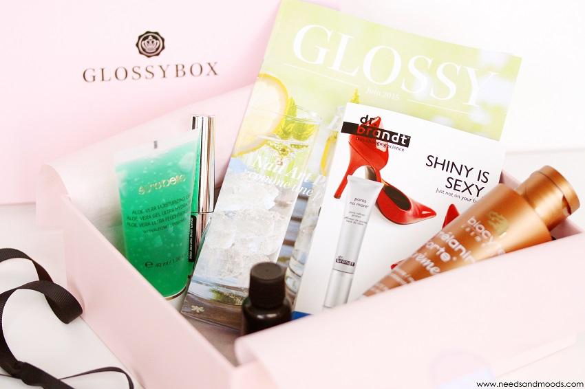 glossybox mois de juin 2015