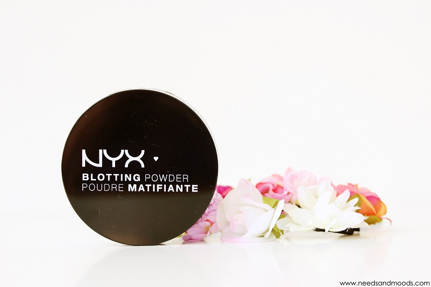 nyx blotting powder maquillage