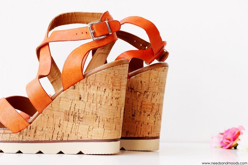sandales joeva les tropeziennes cuir orange