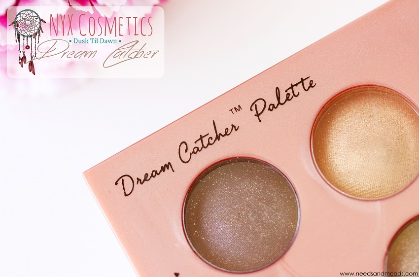 dream catcher palette nyx revue