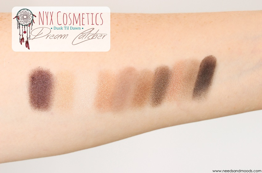 dream catcher palette revue blog
