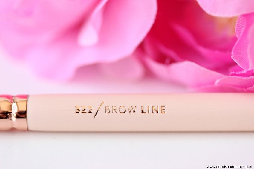 pinceaux zoeva brow line 322