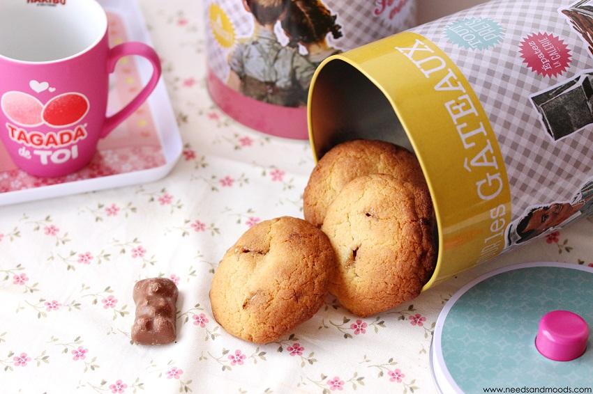 recette cookies oursons guimauve